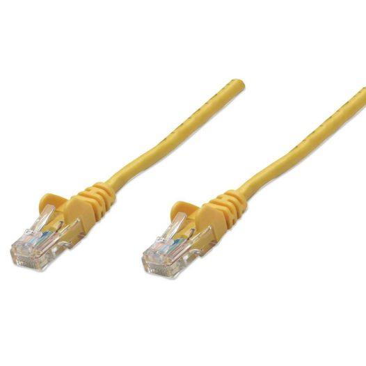 Cable de Red UTP RJ45 Cat5E 10.5 Metros Amarillo Intellinet