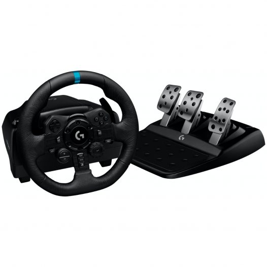 Logitech G923 Timón y Pedales para PlayStation 4 y PC