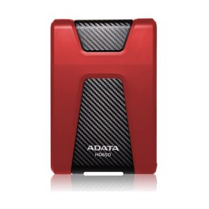 "ADATA Disco Duro Externo HD650 2TB 2.5"" USB 3.2 color Rojo"
