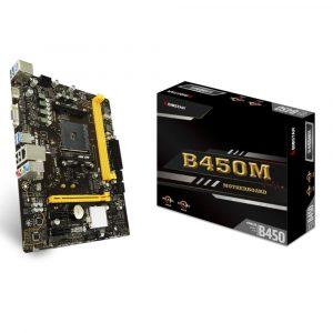 Placa Madre BIOSTAR B450MH Socket AM4 2xDDR4 Micro-ATX
