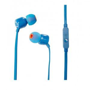 Audífonos Alámbricos JBL T110 Azul