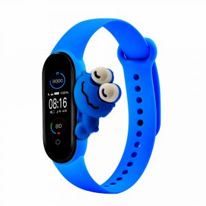 Pulsera para Xiaomi Mi Band 5 Diseño Ranita Azul