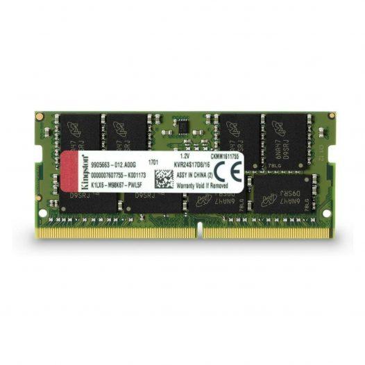 Memoria RAM para Laptop Kingston DDR4 16GB 2400 Mhz