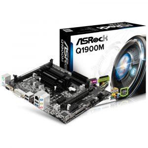 Tarjeta Madre ASRock Con procesador integrado Intel Celeron Quad-Core J1900 2.0 GHz  (Micro-ATX)