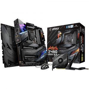 Tarjeta Madre MIS MEG Z490 GODLIKE 10ª generación Intel LGA 1200 DDR4 E-ATX