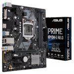 Tarjeta Madre ASUS Prime H310M-E R2.0 Socket LGA 1151 8th y 9th Gen 2xDDR4 Micro-ATX