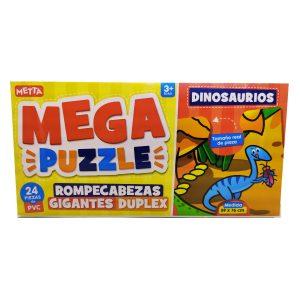 Rompecabezas Gigante de Dinosaurios METTA