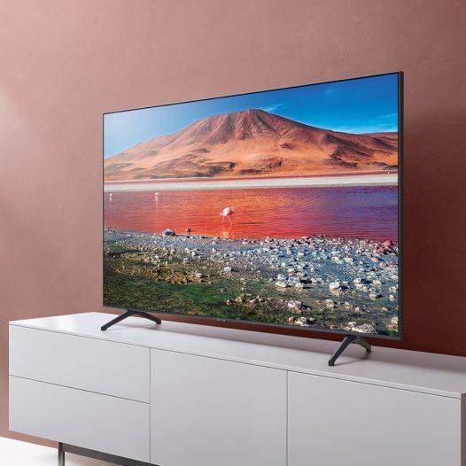 "Samsung Smart TV 75"" TU7000 Crystal UHD 4K 2020"