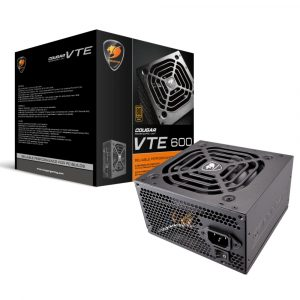 Fuente de Poder 600W Cougar VTE600 80-PLUS Bronce