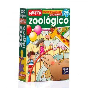 Rompecabezas El Zoológico METTA