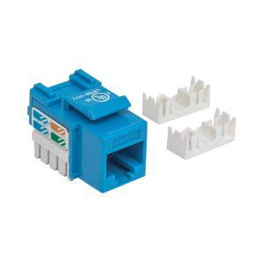 Keystone Cat5 RJ45 Intellinet Azul