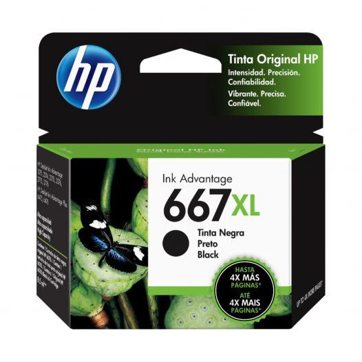 Cartucho HP 667 XL Negro