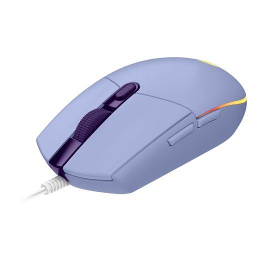 Logitech G203 Mouse Gaming Lightsync Lila