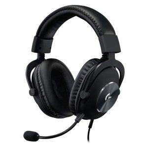 Audífonos Gaming Logitech G Pro X Negro con Micrófono Alámbricos