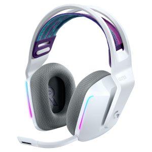 Audífonos Gaming Logitech G G733 Lightspeed RGB Blanco