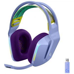 Logitech G733 Audífonos Gaming Inalámbricos RGB Lila