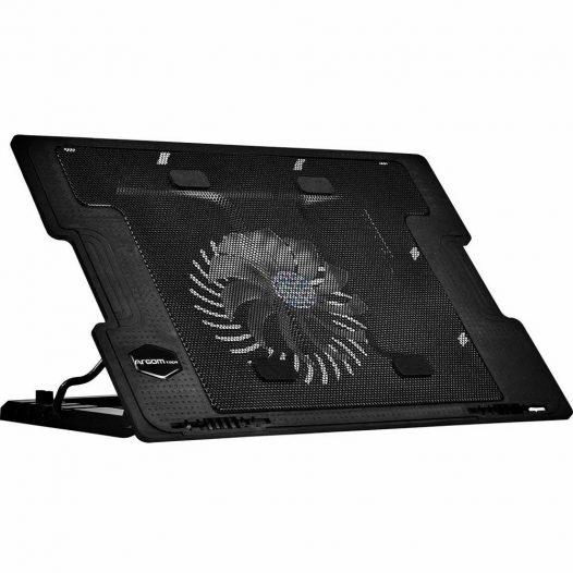 "Ventilador para Laptop 17"" LED Negro Argom"