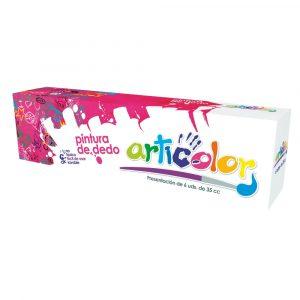 Pintura de Dedos Estuche 6 colores Articolor