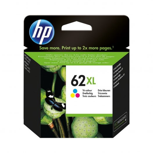 Cartucho HP 62 XL Tricolor