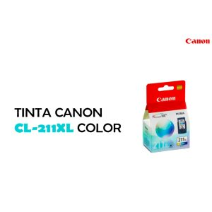 Cartucho Canon CL-211XL TriColor