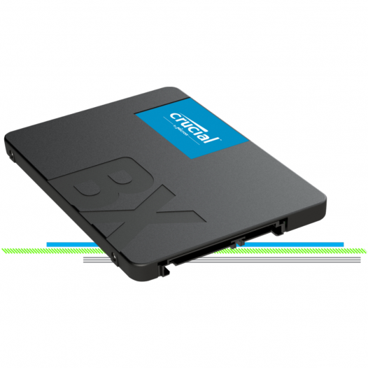 "SSD SATA BX500 120GB de 2.5"""