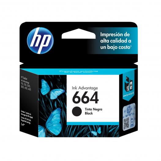 Cartucho HP #664 Color Negro