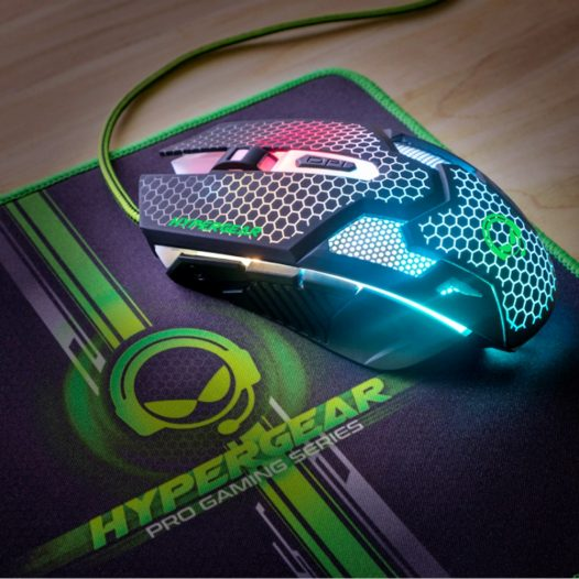 Combo Gaming HyperGear Teclado, mouse , Audífonos y Mousepad