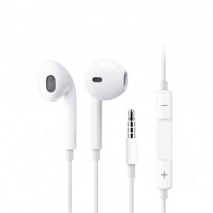 Audífonos alámbricos Plug 3.5mm Blanco