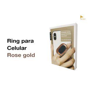 Anillo Ovalado para celular RoseGold ArgentO