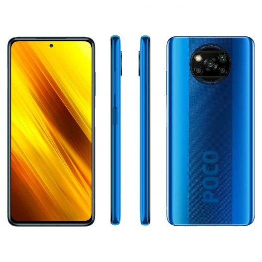 Xiaomi Poco X3 NFC 6GB RAM 128GB ROM Azul + Audífonos Xiaomi Mi Basics