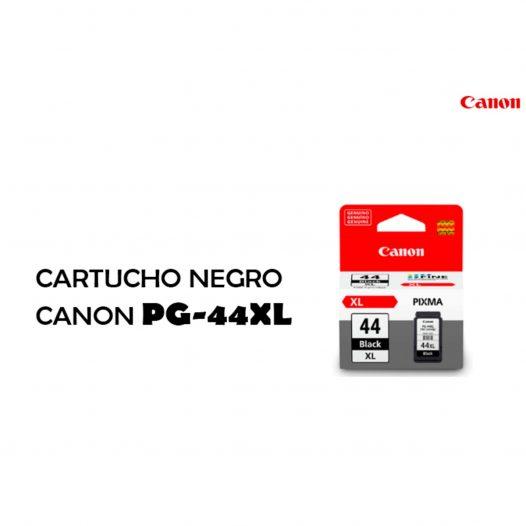 Cartucho Canon PG44XL Color Negro Alto Rendimiento
