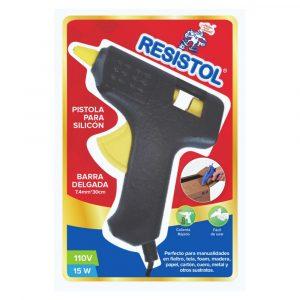 Pistola Silicón Barra Delgada 15 Watts Resistol