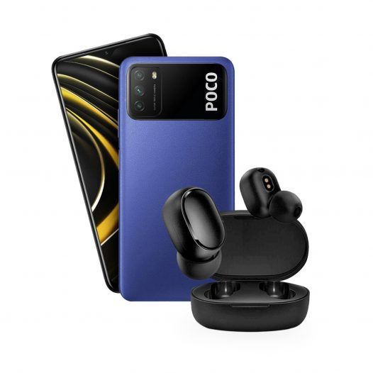 Xiaomi Poco M3 4GB RAM 64GB ROM Azul + Mi AirDots Basic 2