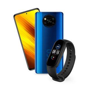 Xiaomi Poco X3 NFC 6GB 128GB Azul + Mi Band 5 Negro