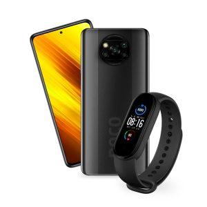 Xiaomi Poco X3 NFC 6GB 128GB Gris + Mi Band 5 Negro