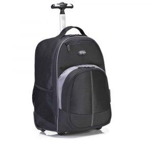 Mochila para Laptop de16 Pulgadas Targus Compact Rolling Backpack Negro