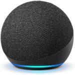 Amazon Echo Dot Bocina 4th Gen Inteligente Asistente Alexa Color Negro