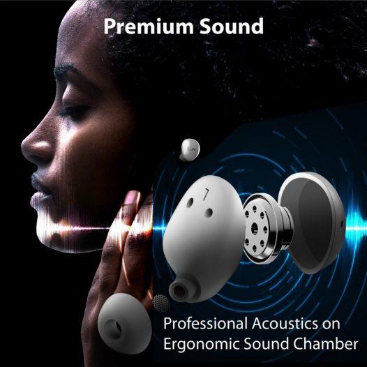 Audífono Bluetooth Bubble Gum True Wireless Negros iluv