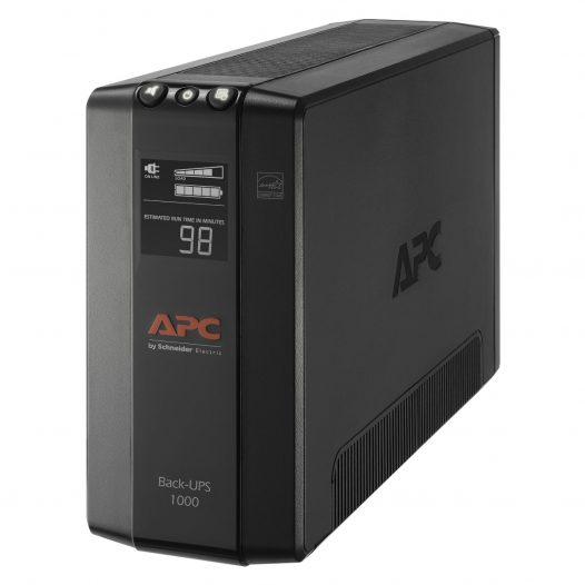 UPS Interactivo APC BackUPS Pro BX1000M-LM60 de 1000VA y 8 Salidas