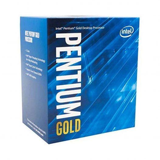 Procesador Intel Pentium Gold G6400 Socket LGA1200 4Ghz
