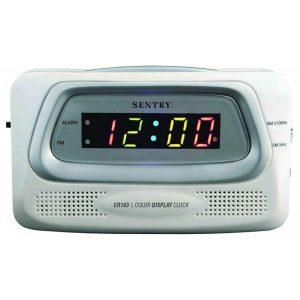 Radio Reloj Despertador Multicolor Eléctrico marca Sentry