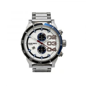 Diesel DZ4313 Analogico Reloj Plateado