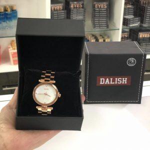 Reloj Gold Rose Pantalla Blanca