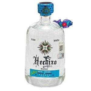 Botella de Mezcal Blanco Marca Hechizo 750ml
