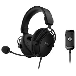 Audífonos Gaming Hyperx Cloud Alpha S Negro