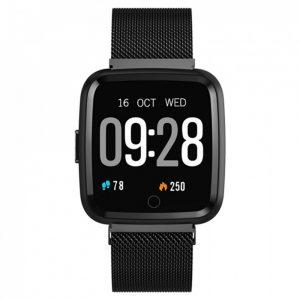 Reloj Inteligente L18 Correa metal Negro