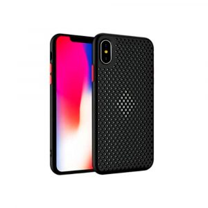 Case para iPhone X / XS Antigolpes  color Negro