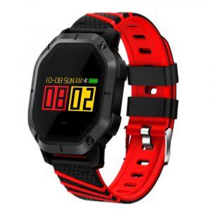 Reloj inteligente K5 Plus Negro con Rojo
