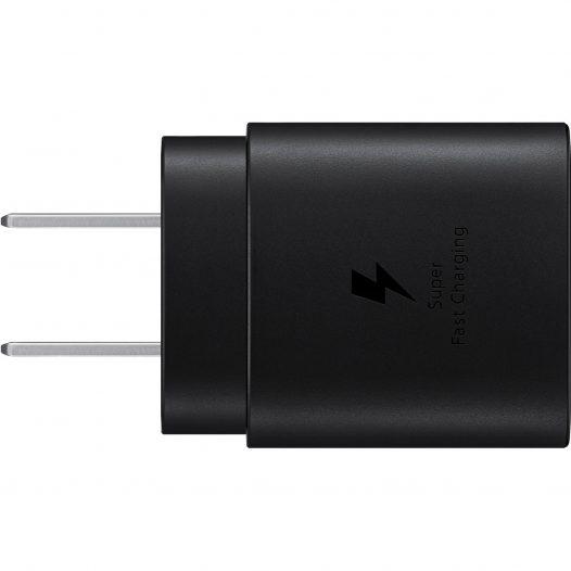 Samsung Cargador de Pared Carga Rápida USB C 25w Negro (Bolsa)