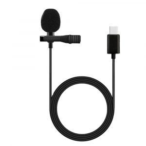 Micrófono de Solapa para Celular Tipo C Lavalier